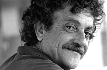 Kurt Vonnegut, the author of <em>Slaughterhouse-Five</em>.