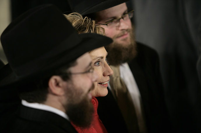 Hillary Clinton, Hasidic Jews, National Day of Prayer