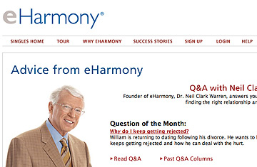 Eharmony guy divorced