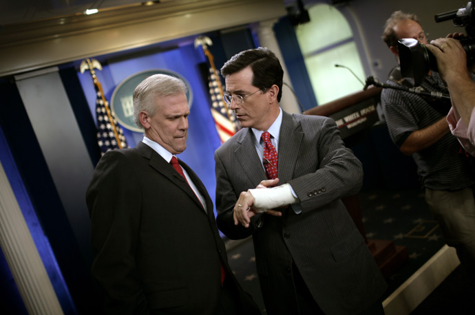 Stephen Colbert White House Tony Snow
