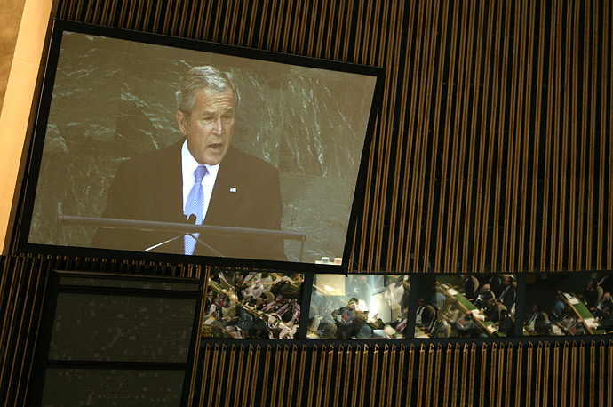 George W. Bush United Nations General Assembly