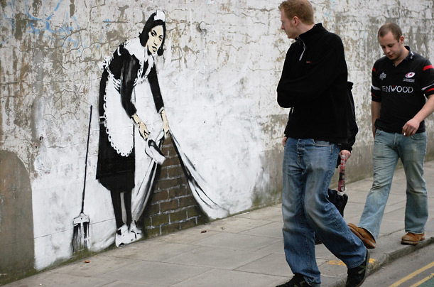 british artist banksy