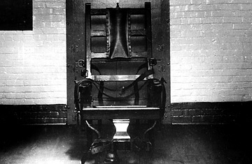 a discussion on the need of the electric chair An electric chair used in 1908 at auburn prison in new york, where william  kemmler  the papers have been saying a lot of stuff that ain't so.