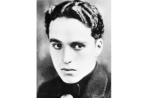 Charlie Chaplin when he was a player in Fred Karno's vaudeville troupe.