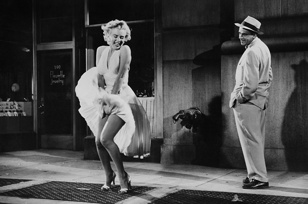 Marilyn Monroe as the Girl in The Seven Year Itch