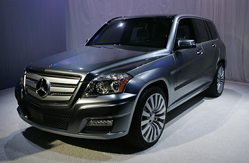 Mercedes benz vision glk all the rage in detroit time for Tom masano mercedes benz