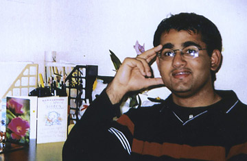 Majid Khan is seen in 1999 during his senior year in high school in Baltimore, Maryland.  Khan, 26, is now jailed at Guantanamo Bay, Cuba.
