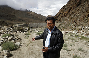 Chewang Norphel, Director of the Leh Nutrition Project.