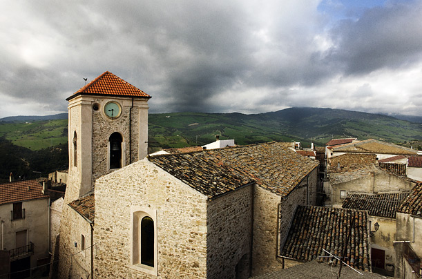 The small town of Amendolara both defies and embodies Calabria's woes, victim of steep unemployment but held together by a generally well-run and corruption-free local government.