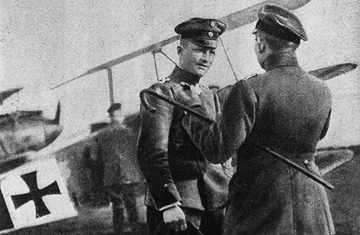 Manfred von Richthofen Red Baron WWI World War I One