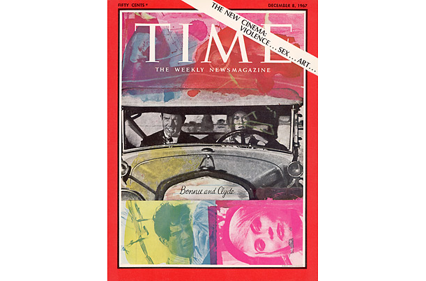 time covers Bonnie and Clyde Robert Rauschenberg