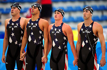 High Tech Swimsuits Winning Medals Too