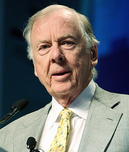 T Boone Pickens - Boone Pickens Sees Oil Going Up, Buys 12 New Oil Stocks