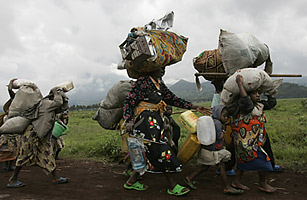 africa congo fighting conflict refugees