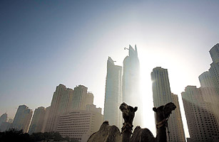 Property values could tumble as much as 20 percent in the next three years in Dubai.