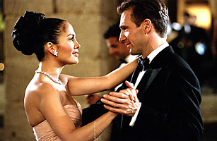 MAID IN MANHATTAN, Jennifer Lopez, Ralph Fiennes