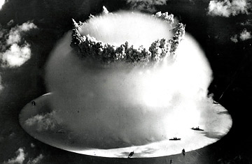 environmental impacts of nuclear bombs Longer-term effects on human health and the environment are less certain but  have been extensively studied the impacts of a nuclear explosion depend on.