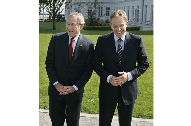 Still in tune at the last G8 summit both would attend as leaders, in Heiligendamm in June 2007