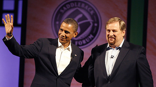 Inaugural Pastor: The Two Faces of RICK WARREN - TIME