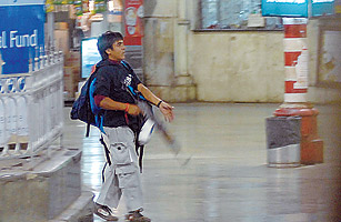 Chhatrapati Shivaji Terminus was the scene of carnage last November after Mohammad Amir Ajmal Qasab, with his partner Ismail Khan, opened fire on commuters.