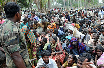 Escape From Hell Refugees Flee Sri Lankan War Zone Time