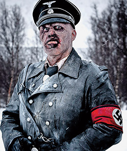 A zombified Nazi from Dead Snow