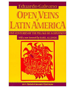 hugo chavez barack obama book open veins of latin america eduardo galeano