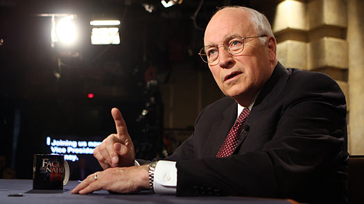 Former Vice President Dick Cheney on CBS's