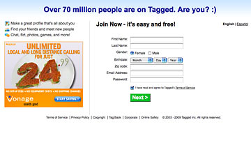 Tagged dating site website