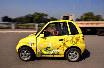 The Reva India S Electric Car Time