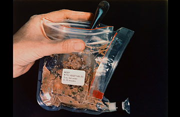 astronauts eating almonds in space - photo #48