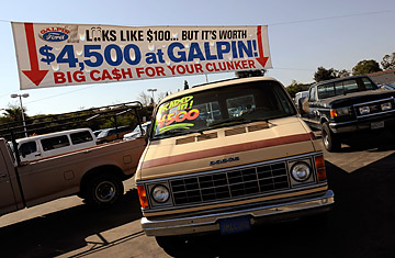 Cash For Clunkers >> What Happens To Traded In Cars In Cash For Clunkers Time