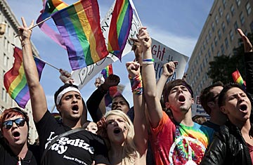 The 20th Anniversary Of The LGBT March On Washington