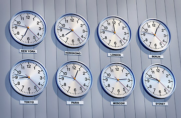 How Time Zones Daylight Savings Work In US World TIME - Different time zones in usa