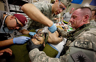 Also Moving From Iraq To Afghanistan: Blood Platelets