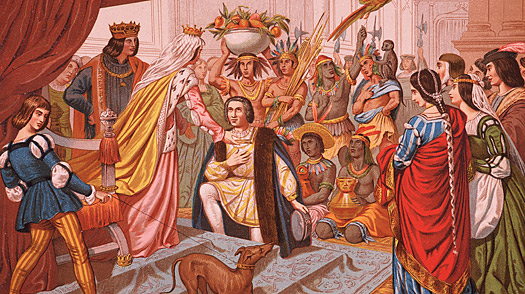 brief history Columbus Day christopher columbus