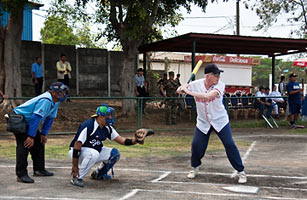 TIME article on baseball diplomacy in Nicaragua