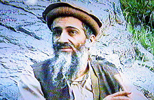Osama bin Laden, in a video that aired on the eve of the second anniversary of the 9/11 attacks