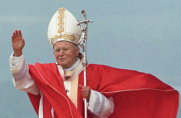 Image result for pope john paul II