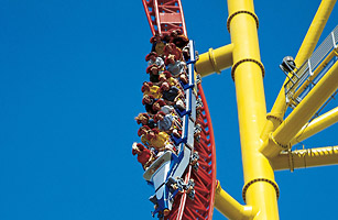 rollercoaster dragster