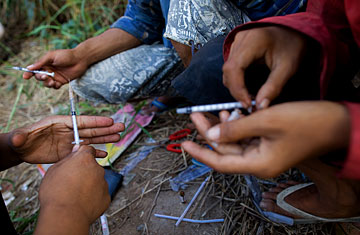 cambodia forcing heroin addicts to use herbal remedy time