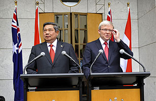 Australia and Indonesia Find It Hard to Make Up