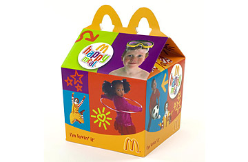 a brief history of mcdonalds happy meal time