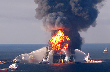 Oil Spill Dangers After Rig Explosion In Gulf Of Mexico Time
