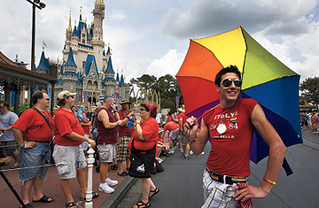 world pride disney Walt gay