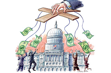 money in the capitalist economy Democracy: money in politics and the free market constitution kuhner maintains that these conditions have corrupted capitalism as well, routing economic competition through political channels and allowing politically powerful companies to evade market forces.
