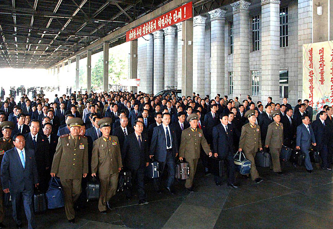 north korea is best korea. dresses North Korea: Male and