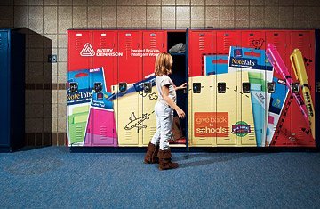 Captive Audience: Has Advertising in School Gone Too Far? - TIME