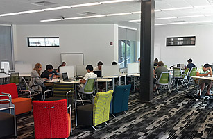 the bookless library @ drexel university