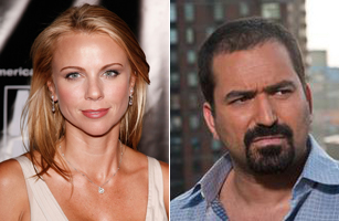 Lara Logan, left and Nir Rosen, right.